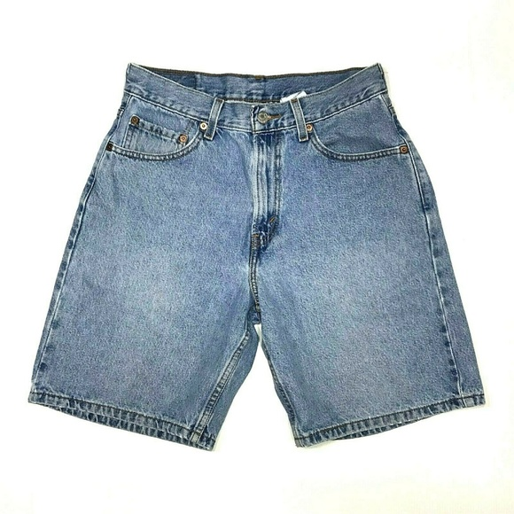 6fea041c Levi's Shorts | Levis 30w 550 Relaxed Fit Faded Light Wash | Poshmark